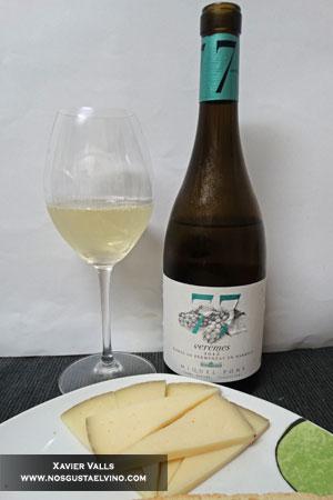 77 veremes 2015 xarel·lo fermentat en barrica de Miquel Pons de la D.O.Penedès