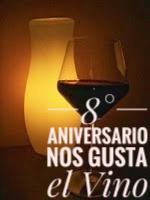 8 aniversario nos gusta el vino