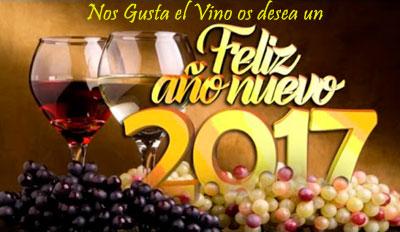 Feliz Año 2017 Nos Gusta el Vino