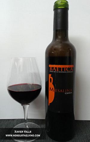 baetica mesalina vino romano