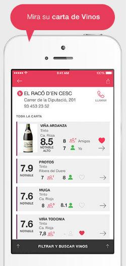 ViWine App 2 la app que te ayuda a elegir el vino