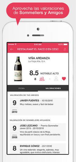 ViWine App 3 la app que te ayuda a elegir el vino