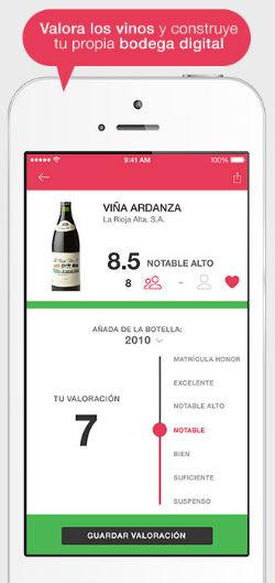 ViWine App 4 la app que te ayuda a elegir el vino