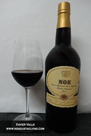 Noe pedro ximenez vors vino dulce jerez gonzalezz byass