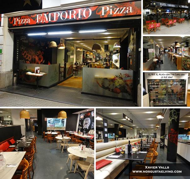 Pizza Emporio Rambla Catalunya Barcelona 1