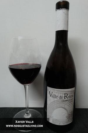 valle de ritos garnacha 2015 de bodegas pago de ritos de la DO vinos de Madrid