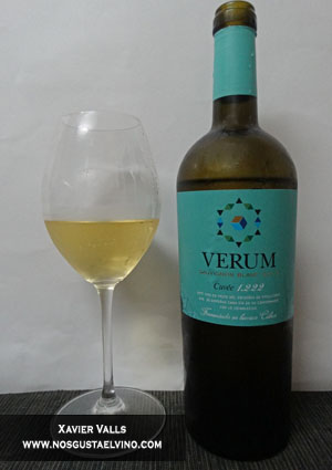 Verum Sauvignon Blanc Cuvée 1222 fermentado en barrica 2013 de Bodegas Verum vt castilla
