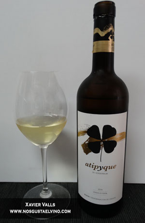 atipyque 2014 verderrubi viñedos y bodegas do rueda