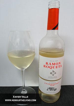 ramon roqueta chardonnay 2016 de ramon roqueta de la do catalunya