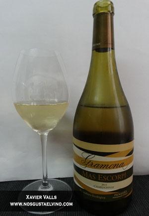 gramona mas escorpi chardonnay 2015