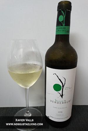Dominio de Verderrubi verdejo 2016 verderrubi bodegas y viñedos do rueda