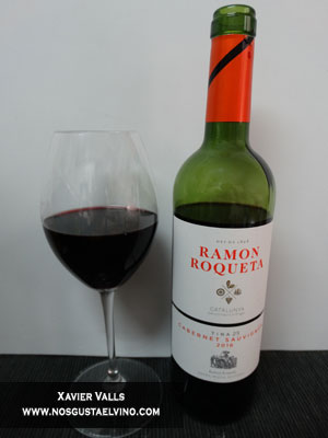 Ramon Roqueta Cabernet sauvignon 2016 do catalunya