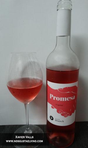 vino rosado promesa cellers blanch do tarragona