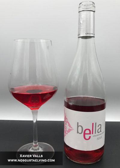 bella rosat 2017 celler mas bella do tarragona