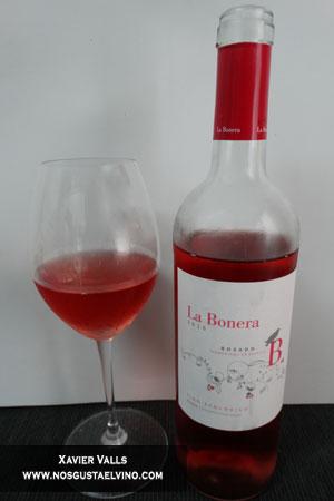 la bonera rosado fermentado en barrica verderrubi bodegas y viñedos do rueda