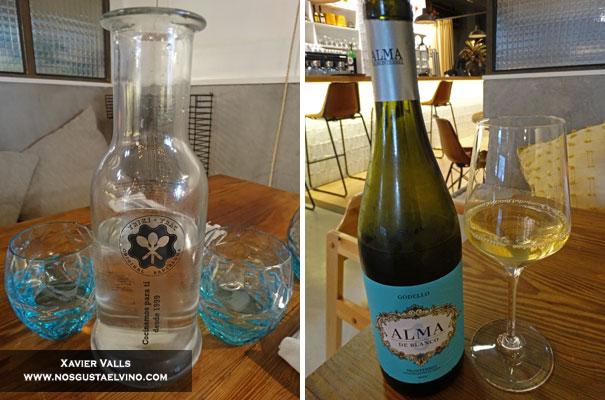 Triki Trac Restaurant Barcelona bebidas