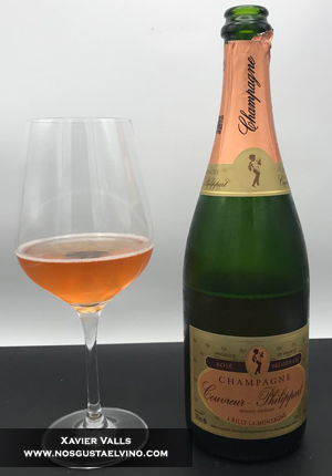 Couvreur Philippart rose premier cru champagne