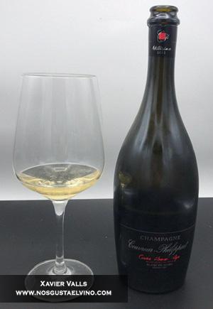 couvreur philippart cuvee hommage blanc de noirs grand cru champagne