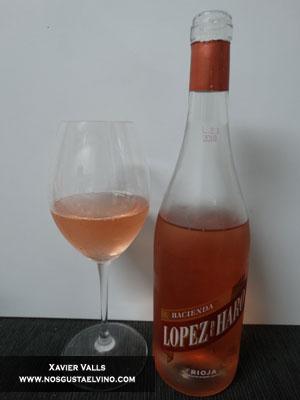 hacienda lopez de haro rosado rioja vintae