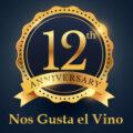 12 aniversario nos gusta el vino