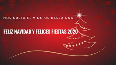 feliz navidad 2020 Nos Gusta el Vino